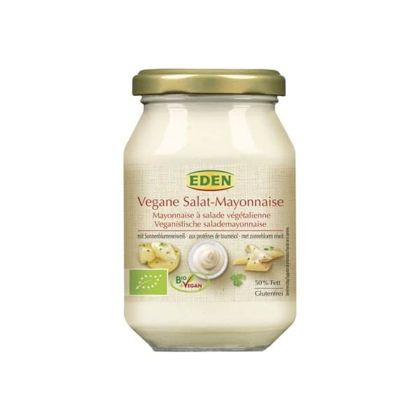 Eden ORGANIC SALAD MAYONNAISE WITHOUT EGG, 250ml