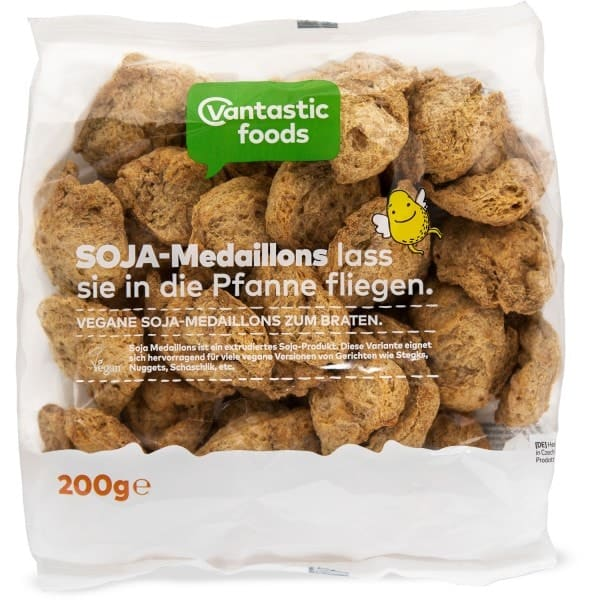 Vantastic foods VANTASTIC MEDAILLONS from soy, 200g