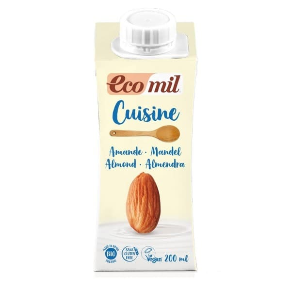 EcoMil CUISINE CHEF almond cream, organic, 200ml
