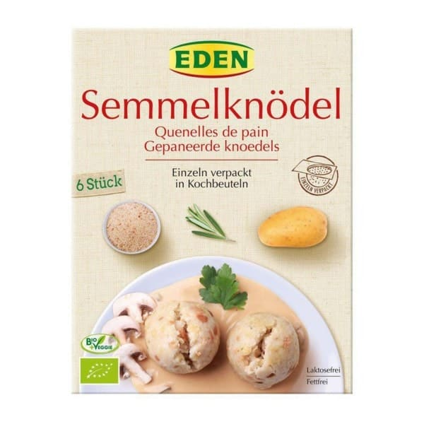 ORGANIC BREAD DUMPLINGS, 200g