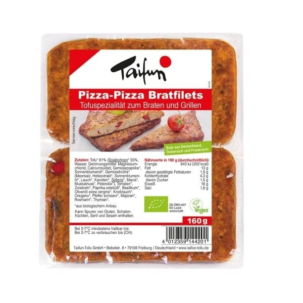 Taifun Organic TOFU-FILETS PIZZA, 160g