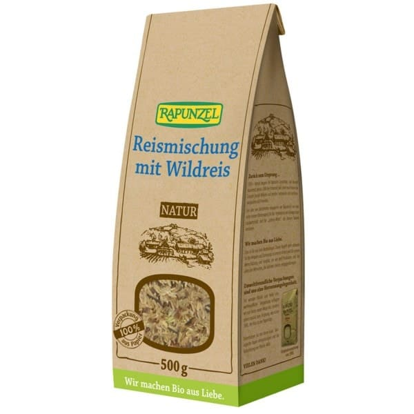 Rapunzel Organic RICE BLEND with wild rice, 500g