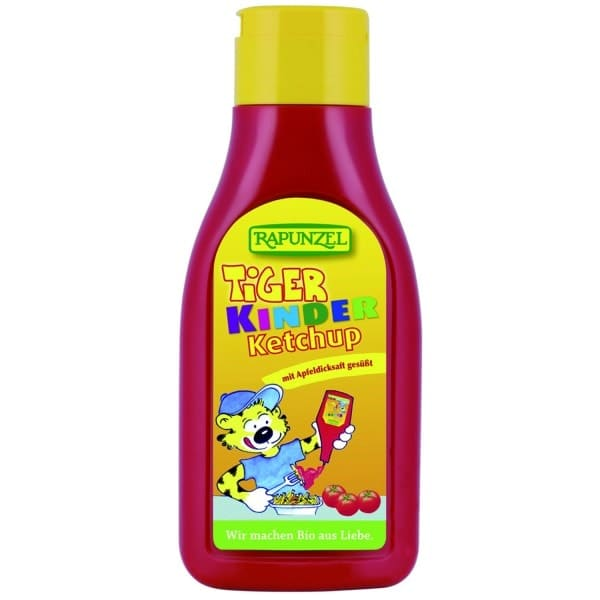 Rapunzel TIGER KIDS Ketchup, organic, 500ml