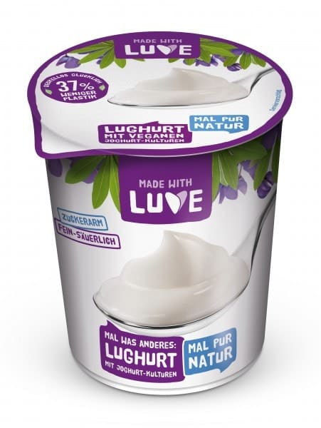 Made with Luve LUGHURT Natur, 500g